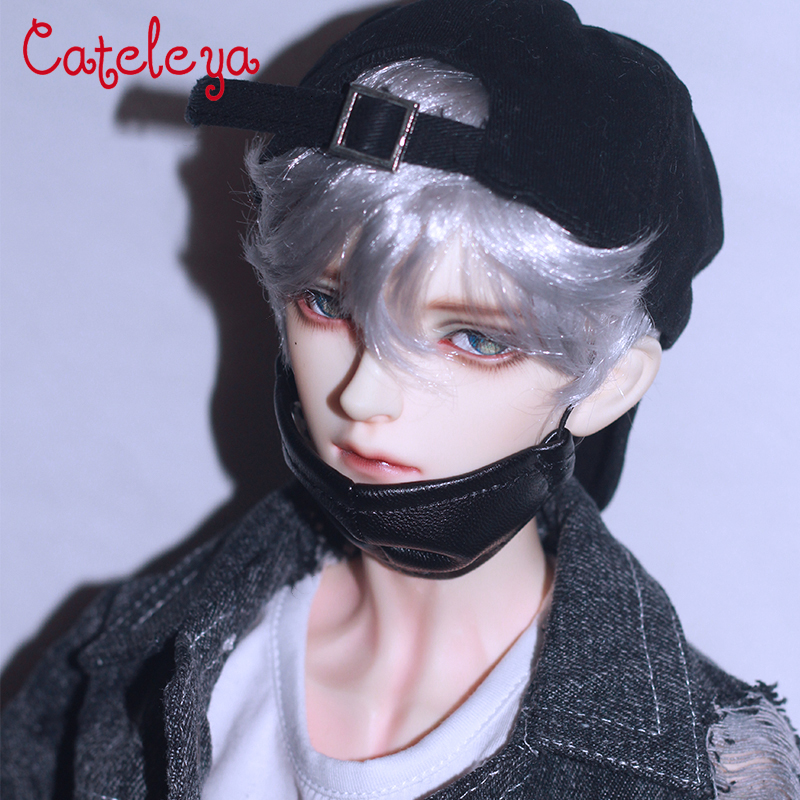 Cateleya <font><b>bjd</b></font> <font><b>doll</b></font> <font><b>wig</b></font> sd <font><b>doll</b></font> <font><b>wig</b></font> for men and women 1/3 1/4 1/6 <font><b>1/8</b></font> short hair easy to roll imitation mohair <font><b>Doll</b></font> Accessories image