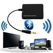 Bluetooth Передатчик Беспроводную Передачу Мини Bluetooth Аудио Передатчик 3.5 мм A2DP Стерео Dongle Адаптер для ставку ТВ Mp3 Mp4 PC Speaker