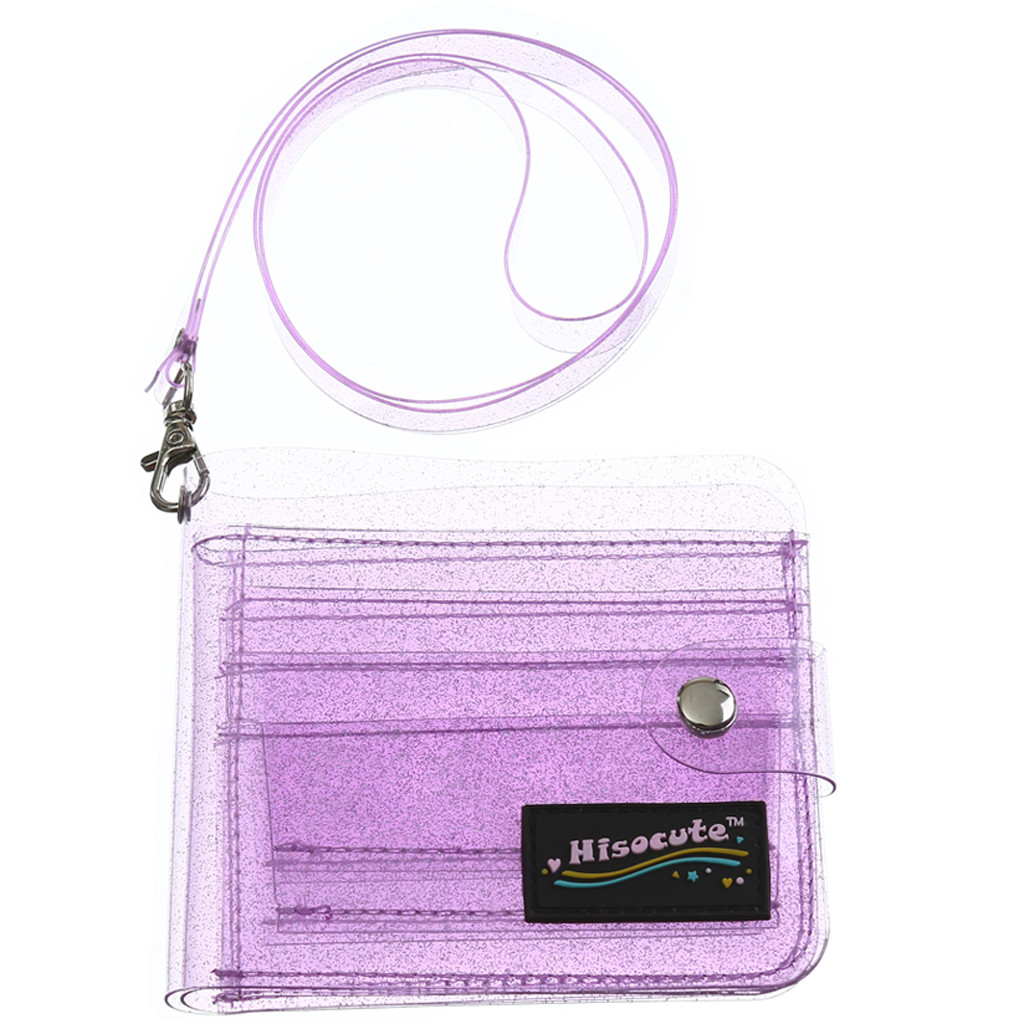 Fashion Women's Solid Color Jelly Card Wallet Support Wholesale And Dropship