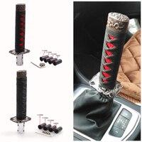 Universal Aluminium Alloy Jdm Styling Shifter Katana Samurai Sword With 12mm Hole Black Red Black Performance