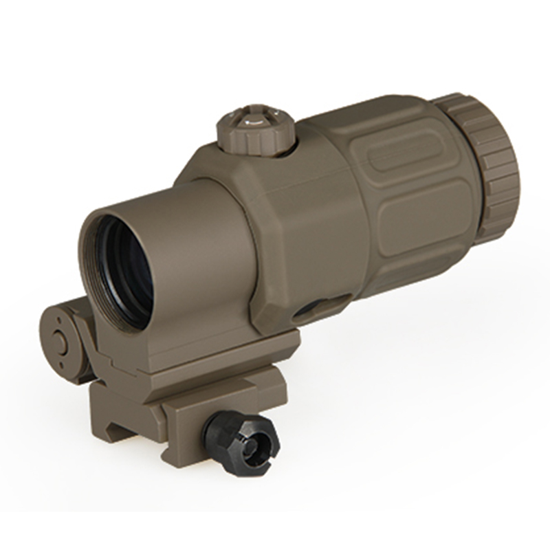 New Arrival Tactical Holographic Sight 3x Magnifier with STS Mount For Hunting BWR 066Tan