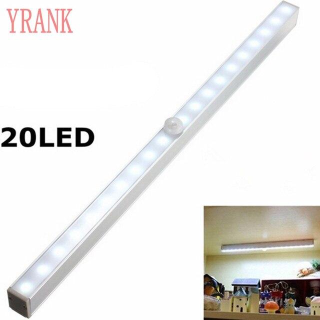 Kleiderschrank Beleuchtung Led Mit Bewegungsmelder | Drahtlose Pir Bewegungsmelder Sensor 20 Led Nachtlicht