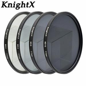 Image 1 - KnightX ND2 ND4 ND8 ND16 ND FILTER for Nikon D3100 D3200 D5200 D7100 for Canon 1100d 1200D 49mm 52mm 55mm 58mm 62mm 67mm 72 77mm