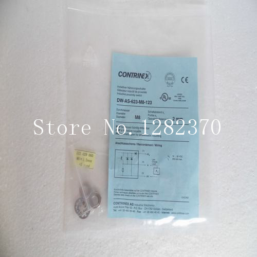[SA] New original authentic special sales CONTRINEX sensor switch DW-AS-623-M8-123 spot --2PCS/LOT александр константинович глазунов песня