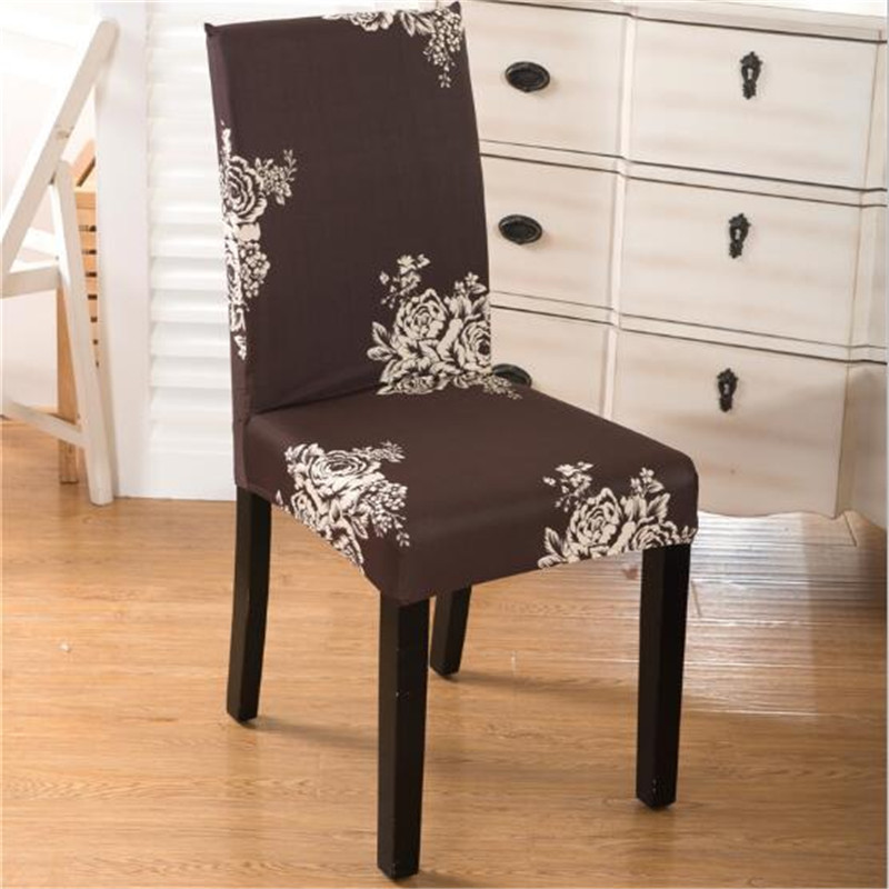 Fantastic Us 5 37 High Quality Sure Fit Soft Stretch Spandex Pattern Chair Covers For Kitchen Chair Short Dining Chair Cover Purple Grey Champagne In Chair Uwap Interior Chair Design Uwaporg