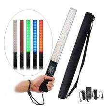Yongnuo YN360 3200 K 5500 K RGB Renkli CRI95 + 2560LM 360 Led El Video Dolgu Işığı Stüdyo Aydınlatma