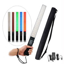 Yongnuo YN360 3200 K 5500 K RGB coloré CRI95 + 2560LM 360 Led poche vidéo remplissage lumière bâton Studio éclairage