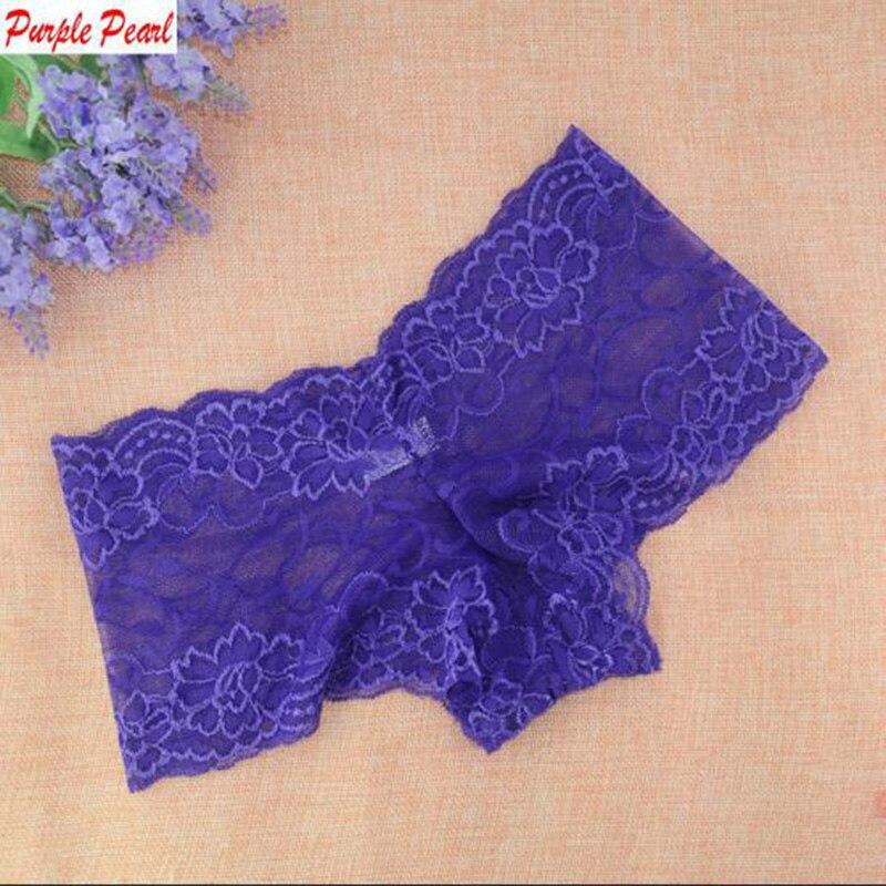 HW190 Cheap Summer Thin Lace Panties Underwear Women See Through Comfortable Shorts Women Female Intimates Boxers Boyshorts