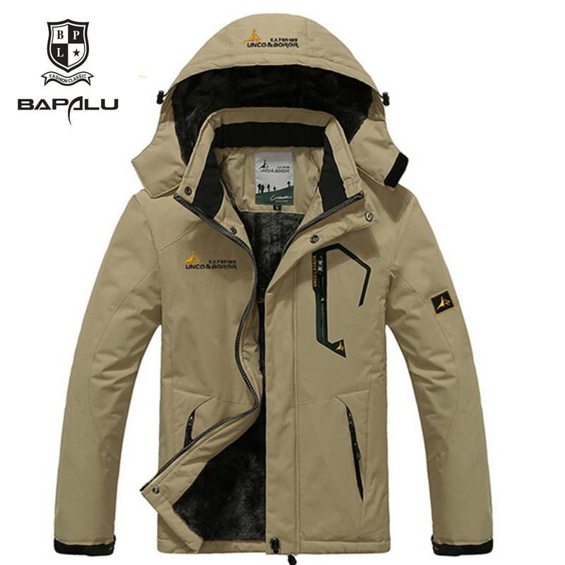शरद ऋतु और सर्दियों जैकेट पुरुष / महिला निविड़ अंधकार windproof जैकेट पुरुष प्लस मोटी मखमल गर्म आकस्मिक कोट जैकेट आकार 4XL5XL6XL