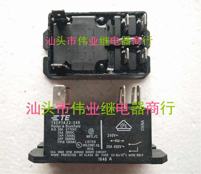 T92P7A22-240 240V New Relay