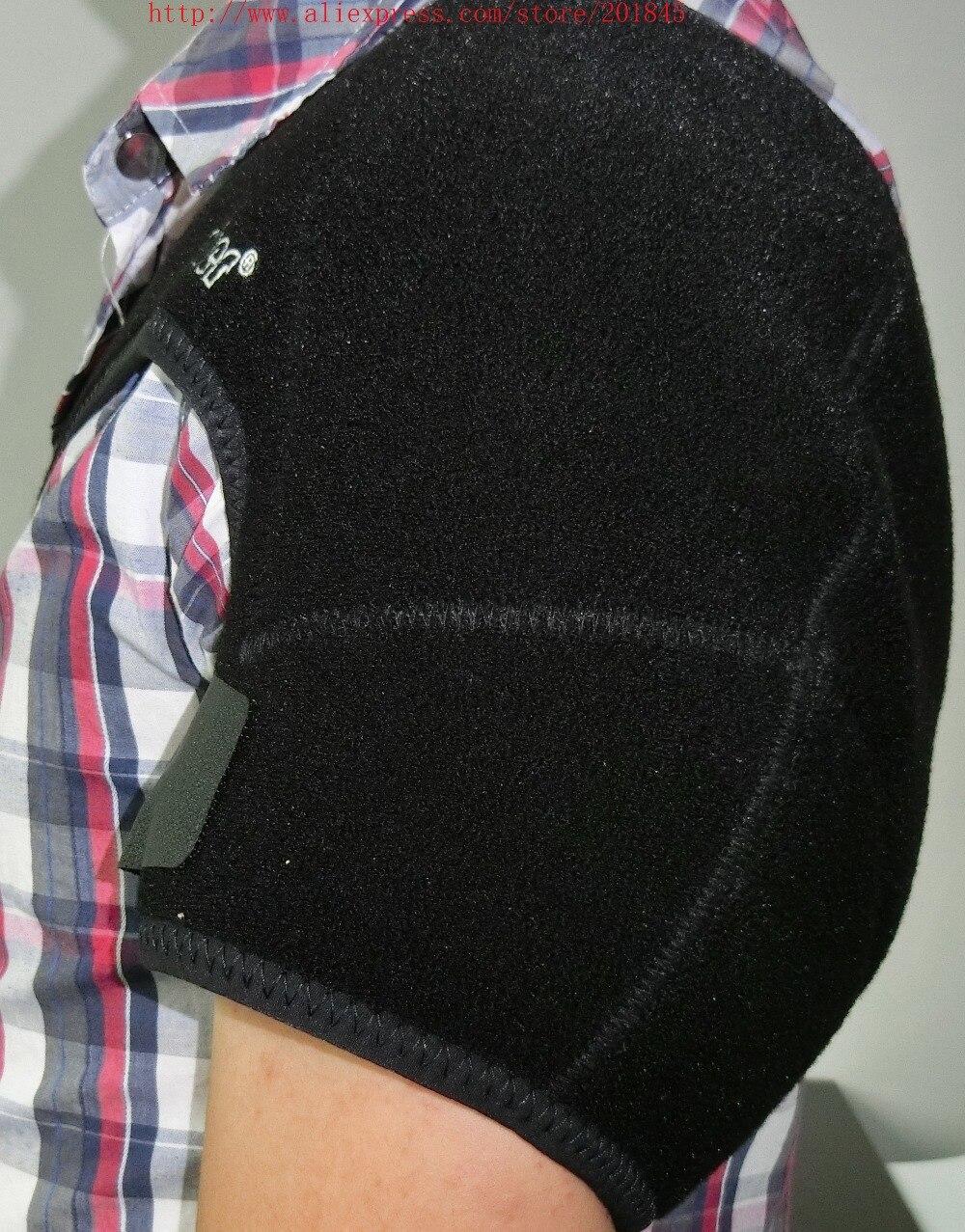 купить Adjustable Left Shoulder Bandage Protector Brace Joint Pain Injury Dislocation Arthritis Shoulder Arm Support Strap Equipment по цене 4404.2 рублей
