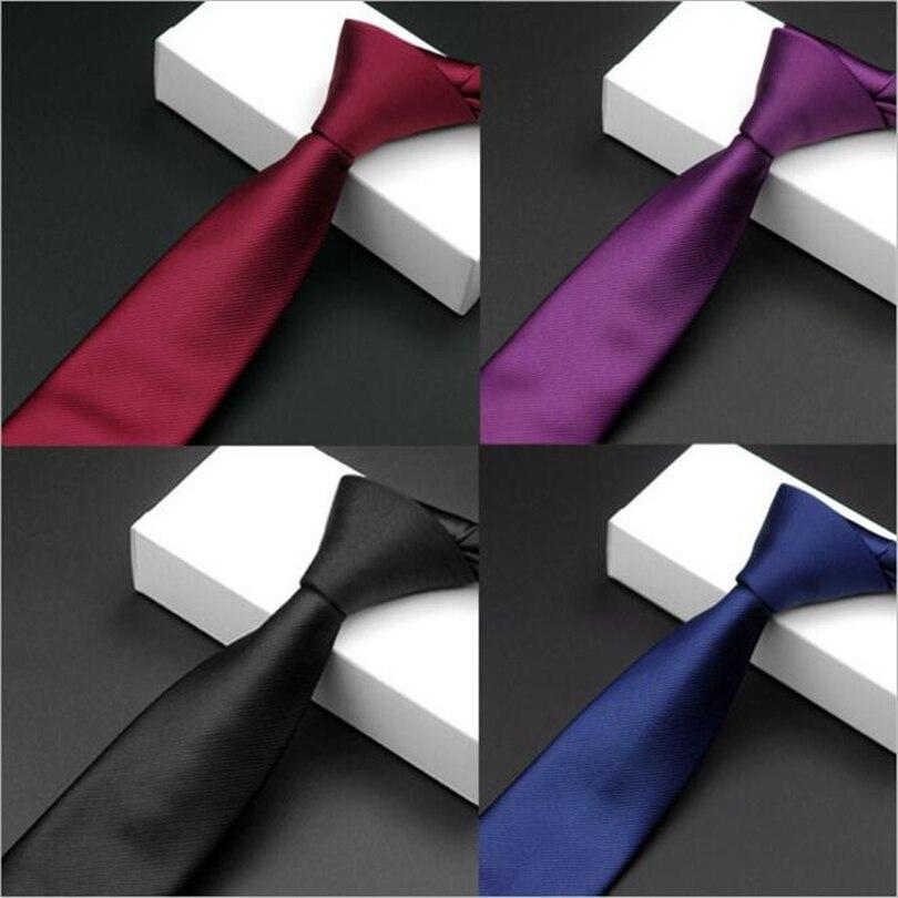 Slim Narrow Black Ties For Men 5.5cm Casual Arrow Skinny Red Necktie Fashion Unisex Accessories Simplicity For Party Formal Tie