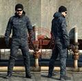 Del hierro y el acero exterior Camo enredadera heavy Duty chaqueta chaqueta / Camo táctico exterior Tops / Pullover chaqueta Camo