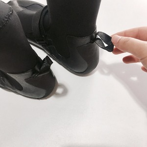 Image 4 - Neoprene Boots 3mm CR Rubber Shoes Surfing Diving Shoes