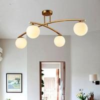 Moderne stil wohnzimmer schlafzimmer minimalistischen restaurant anhänger licht Nordic kleidung dekoration glas ball anhänger lampe-in Pendelleuchten aus Licht & Beleuchtung bei