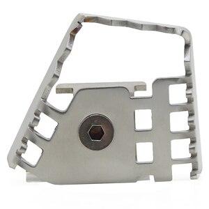 Image 3 - Para bmw f800gs r 1150/1200 gs r1200gs adv/r1200gs lc motocicleta pé traseiro alavanca do freio peda ampliar extensão tira
