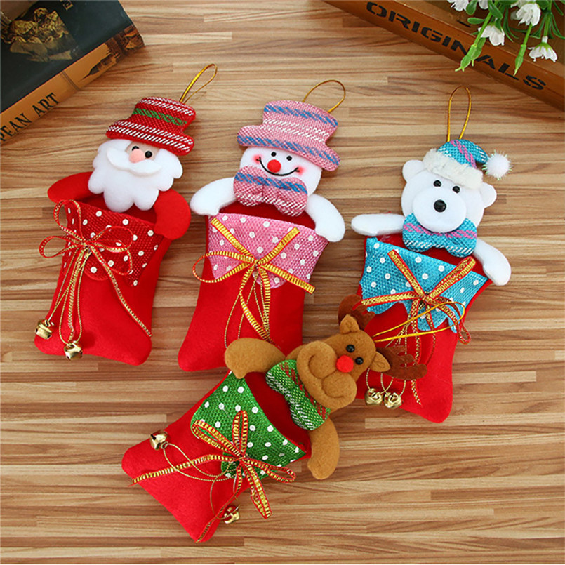 2018 frohe Weihnachten Süßigkeiten Beutel Snack Paket Kinder ...