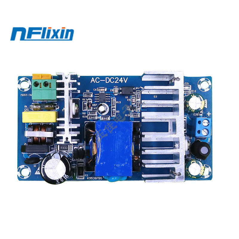 100W <font><b>4A</b></font>-6A Stable High Power Switching Power Supply Board AC 110V 220V to DC <font><b>24V</b></font> Power Transformer Step Down Voltage Regulator image