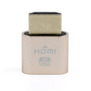 Image 5 - Adapter Display Emulator Computer Accessories Block Plate VGA Virtual 1920x1080 4K Dummy Plug Headless Connector Locking HDMI