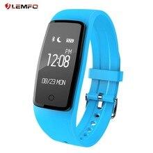 Lemfo S1 смарт-браслет сердечного ритма Мониторы крови кислородом спортивный браслет Фитнес трекер Смарт часы сна Мониторы Smart Band