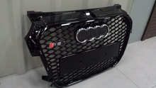 Car Styling Refitting Auto Parts ABS Grill Grille Fit For Audi A1 RS1 Vehicle 2013-2016 Vehicle  For aftermarket