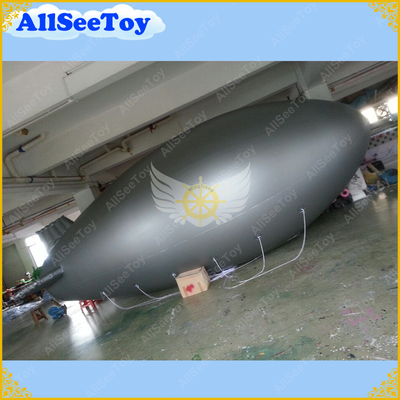 Free Shipping 8m Long Inflatable Advertising Blimp Inflatable Zeppelin/Airship with your Different Logos цена