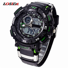 Losida G Style Shock Waterproof Outdoor Sports Watches Men Quartz Watch Clock Digital Military LED Wrist Watch Relogio Masculino