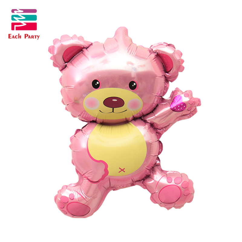 36 inch Giant Teddy Bear Cartoon folie ballonnen Kids cartoon Vorm - Feestversiering en feestartikelen - Foto 5