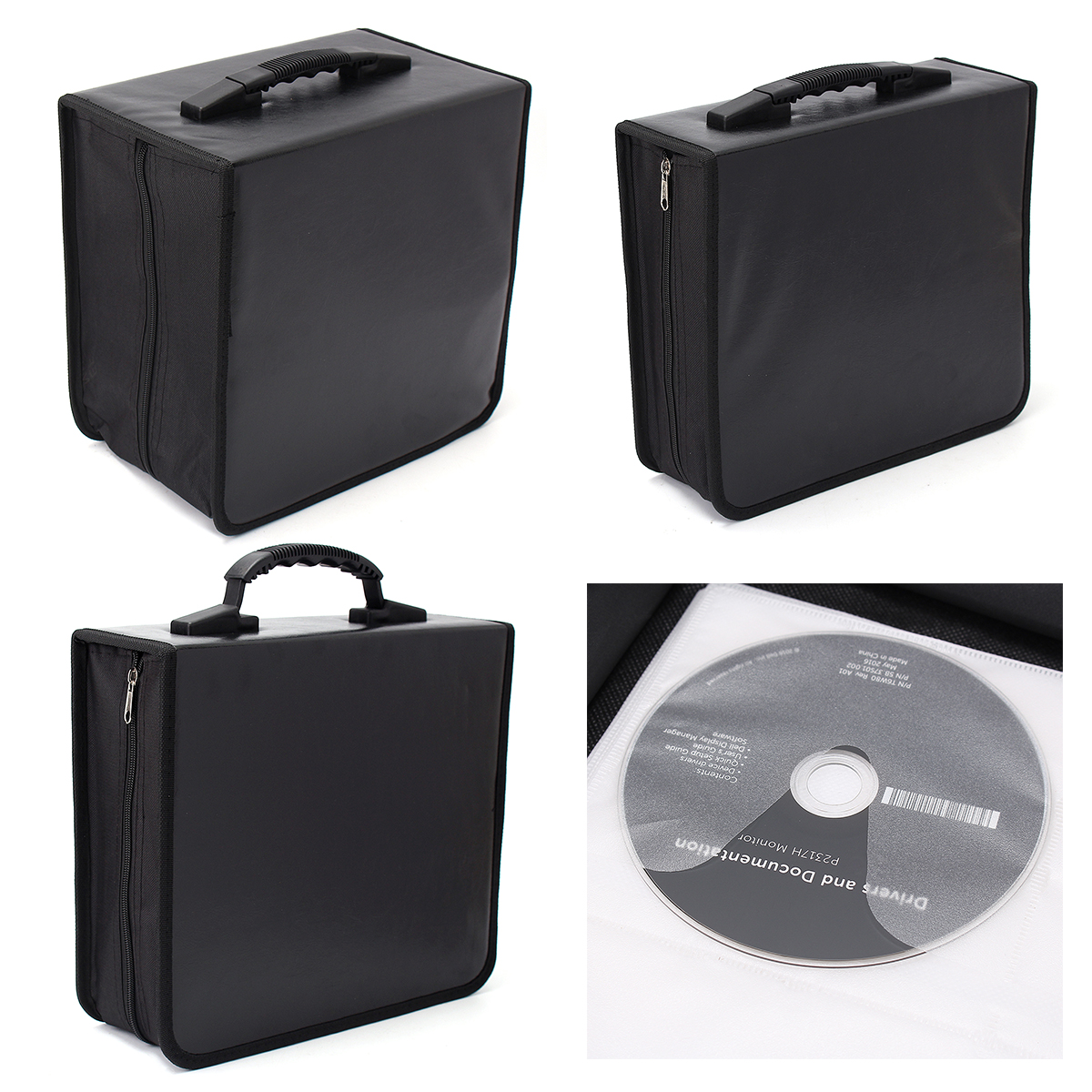 240/400/520 Disc CD DVD Portable Storage World Map Printed Holder Carry Durable Wallet Bag Wallet DJ Album Collect Storage 1pcs 40 disc cd dvd case storage holder carry case organizer sleeve wallet cover bag box cd dvd holder dj storage cover