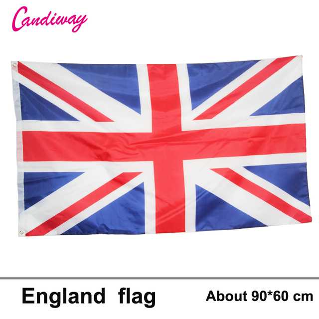 United Kingdom National Flag Great British Indoor Outdoor 3x5 Feet 2x3 GB Country Banner