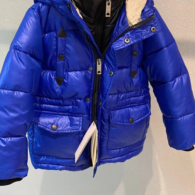 kid down jackets hoodie duck down coat hooded for boys girls winter warm down clothes outwear in stock цена