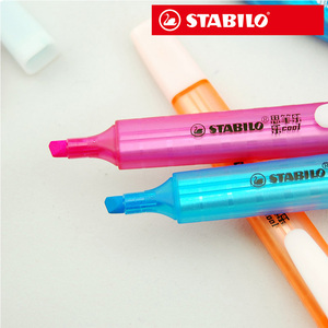 Image 3 - PenImported 8pcs/set STABILO Swing Cool Highlighter 275 cool pen Highlighter Marker Mark Colorful color