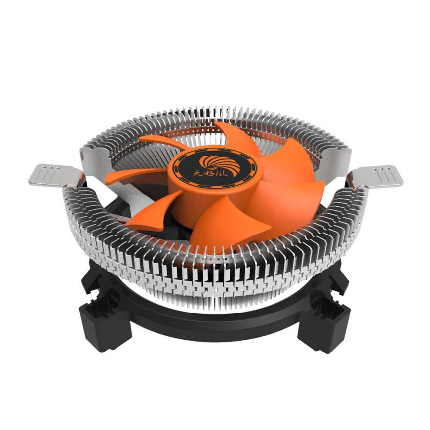High Quality CPU Cooling Fan Radiator Heatsink Blade For Intel LGA INTEL LGA1155/1156 I3/I5 Jan15 cpu cooling cooler fan heatsink 7 blade for intel lga 775 1155 1156 amd 754 am2 levert dropship sz0227