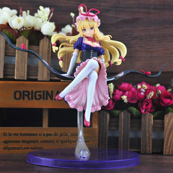 Touhou Project Cosplay Yakumo Yukari Boxed Garage Kit Action Figures Model Toys лоферы caprice caprice ca107awpje17