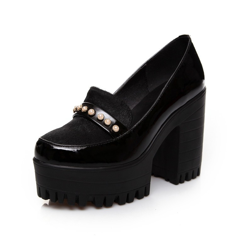 Popular Chunky Heel Platform Shoes-Buy Cheap Chunky Heel Platform ...