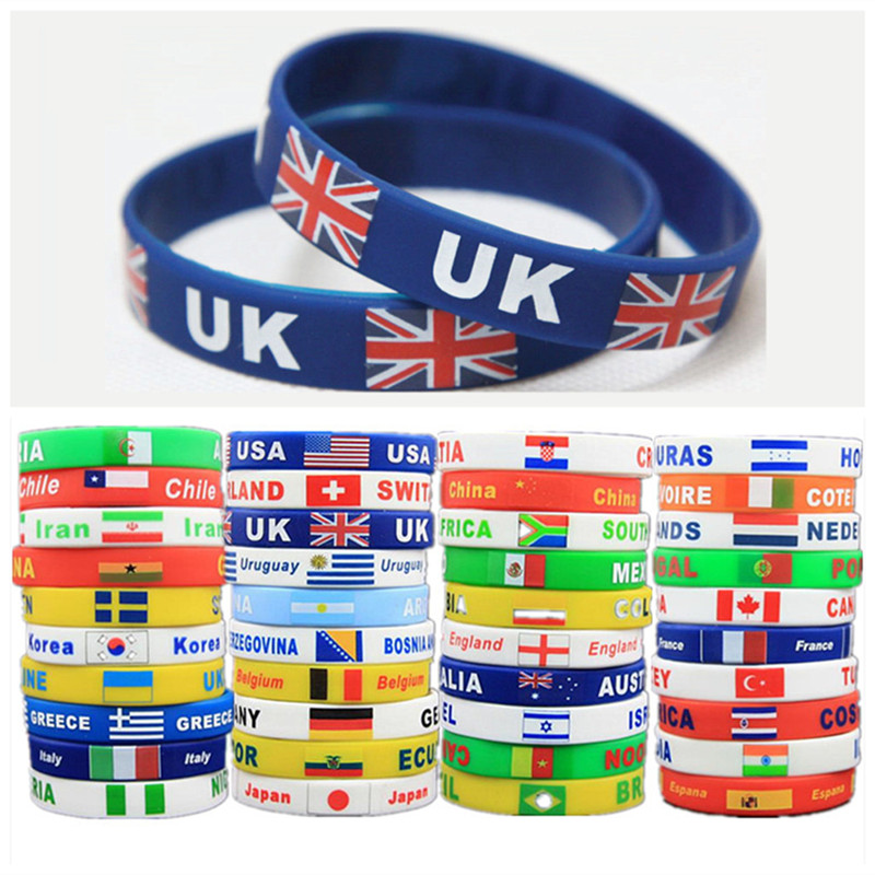 Popular Flag Wristbands Buy Cheap Flag Wristbands Lots