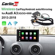 2019 автомобильный Apple CarPlay Android авто радио-дешифрователь для Audi A3/B9 MMI оригинальный экран iOS и обратное изображение модифицированный комплект