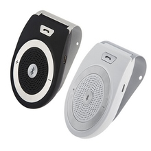 Wireless Bluetooth Handsfree Automobile Kit Speakerphones + Clip 10m Distance Pro for iPhone with Car Charger T821-1