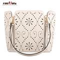 Hot Sale Designer Handbags High Quality Women Handbags Brand PU Leather Women Shoulder Bag Flower Hollow Out Bag Messenger Bags