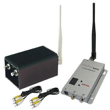 2W 5000m FPV Transmmitter 1.2Ghz Long Range Wireless Video Transmitter for CCTV surveillance system 50km long range fpv sets for fixed wings