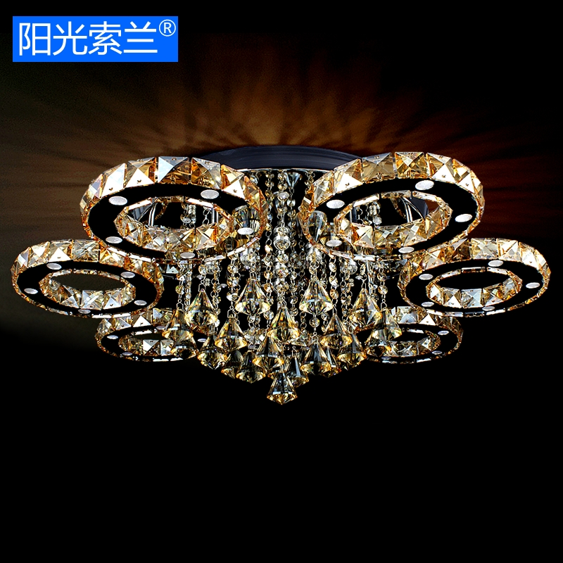Modern Led Crystal Ceiling Lights For Living Room Bedroom Dining Room Stainless Steel Crystal Ceiling Lamps For Home Decoration crystal ceiling chandelier home for living dining room lamp indoor home decoration bedroom lights crystal led lamp