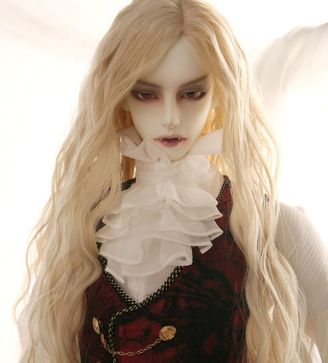 Luodoll BJD SD poupée gluino vampire vampire 70 cm globe oculaire d'anniversaire cadeau