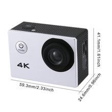 SJ камера 4K 2,0 дюймов ЖК-экран Дайвинг 30 м Водонепроницаемая камера Экстремальные виды спорта DV 1080p мотоцикл автомобиль Спорт на открытом воздухе