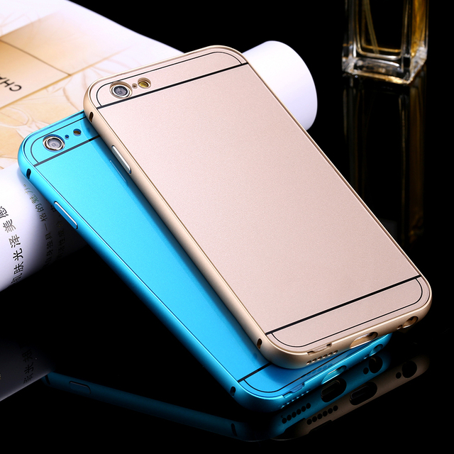 super popular a4740 ec8b3 US $1.79 |Hot i4!! Metal Aluminum +Acrylic Back Cover for Apple iphone 4 4s  Accessories Hybrid Luxury Case for Apple iphone4s i4 A1332 on ...