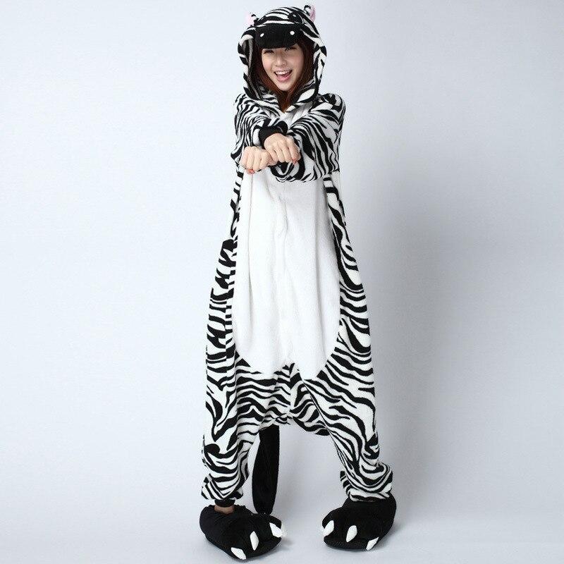 zebra adult onesie kigurumi