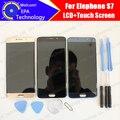 Elephone S7 Pantalla LCD + Pantalla Táctil 100% Original Nuevo Reemplazo de Cristal Del Panel Digitalizador Probado Para S7 + Herramientas