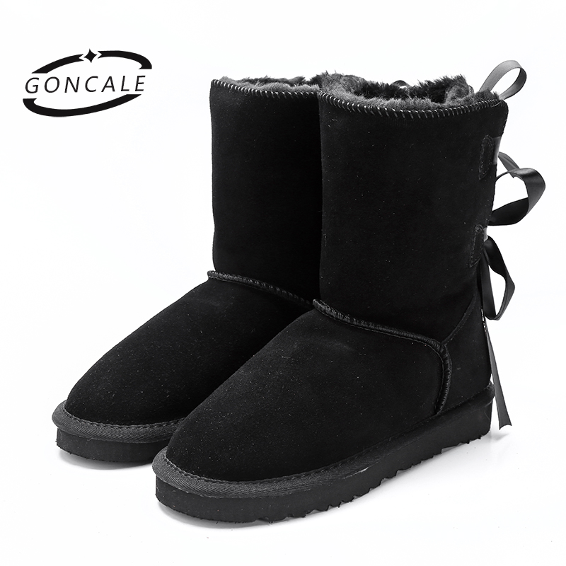 font b 2017 b font High Quality Brand women s winter snow boots waterproof genuine