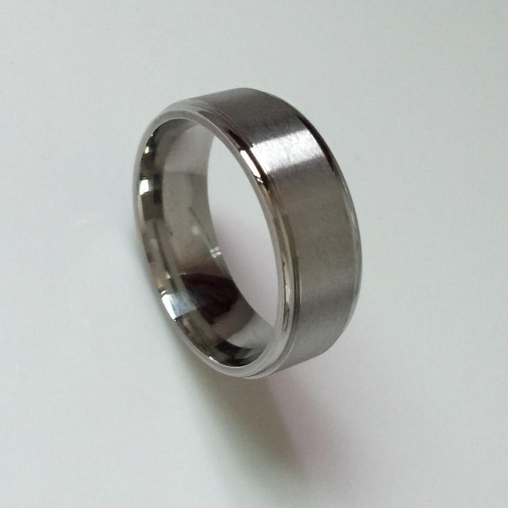mens wedding rings online Screw Design Men s Wedding Ring in Titanium