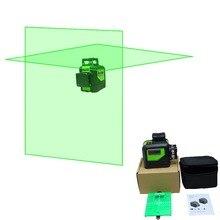 LND лазерный уровень 360 вертикальный и горизонтальный самонивелирующийся перекрестный зеленый луч