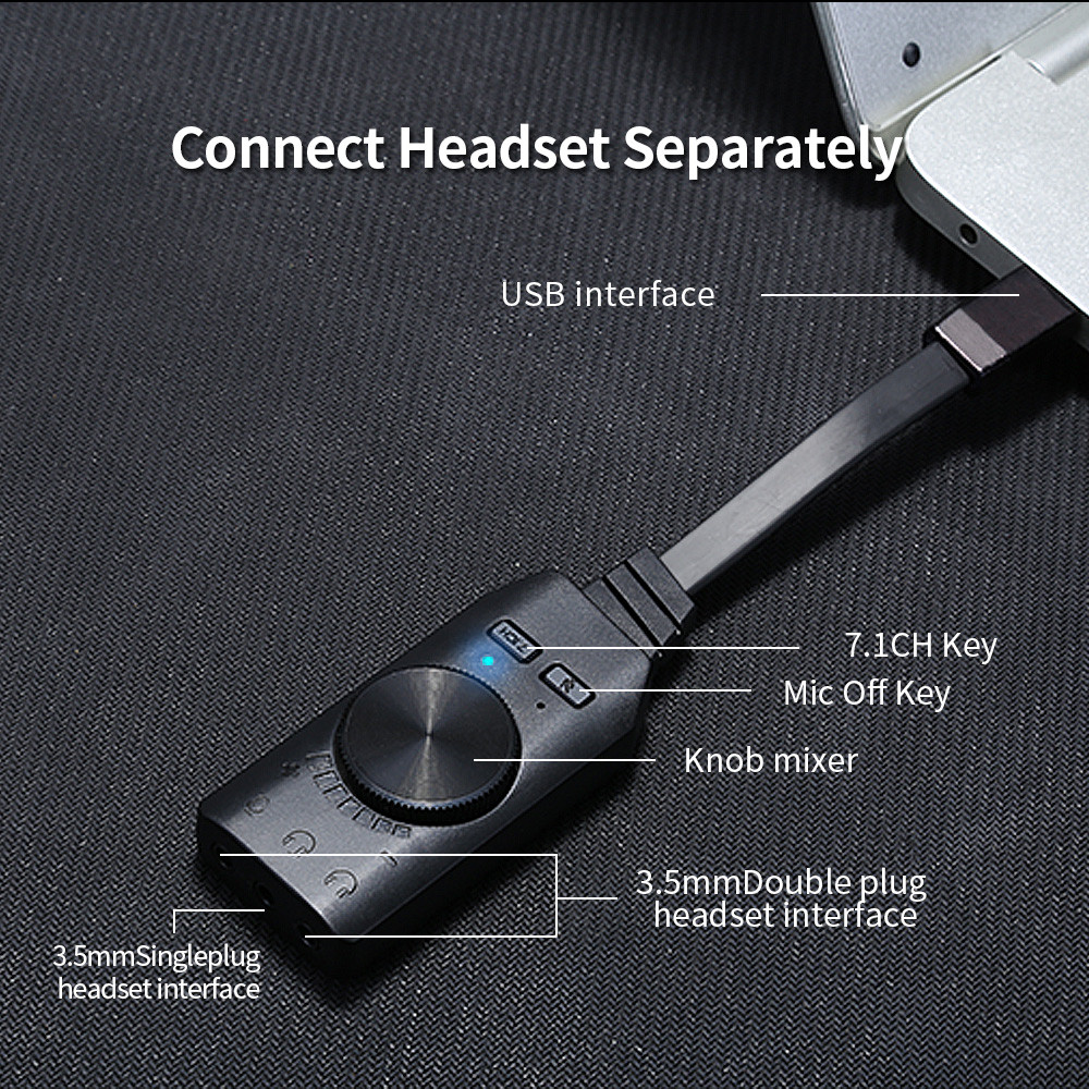 Plextone GS3 Virtual 7.1-Channel USB Sound Card Driver 4